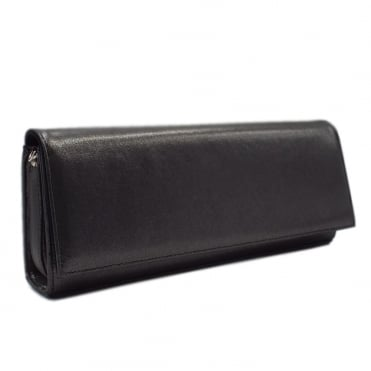 Winifred Evening Clutch Bag In Black Star