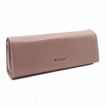 Winifred Mauve Sarto Leather Stylish Clutch Bag