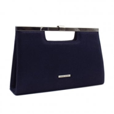 Wye Notte Luz Shimmering Suede Stylish Clutch Bag