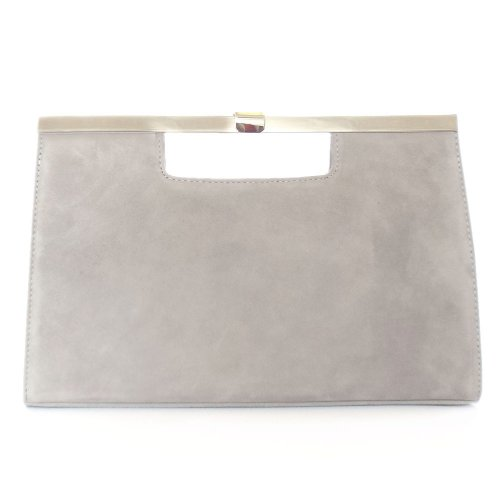 men/man fashionable and attractive package premium selection Grey Suede Clutch Bag Uk | Jaguar Clubs of North America